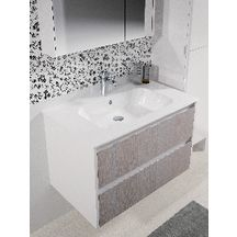 Plan de toilette All Day 86 cm en c�ramique