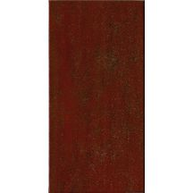 Fa�ence Les Exclusifs Neptune rouge satin� 20x40cm R�f ANDRA 24R