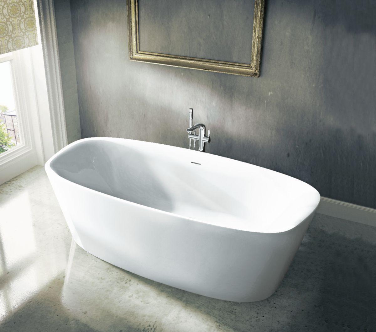 baignoire lot dea en acrylique l cm envie de salle de bain. Black Bedroom Furniture Sets. Home Design Ideas