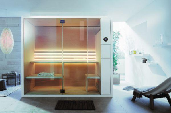 Sauna INIPI B, version d'angle