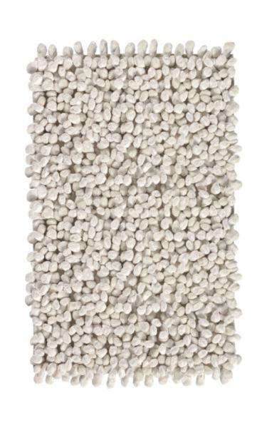 Tapis de bain ROCCA 60x100cm ivoire
