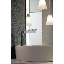 Mitigeur lavabo TIME bec long, avec vidage