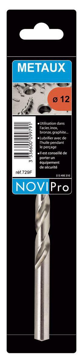 Foret cylindrique HSS NOVIPro pour métaux diamètre 10