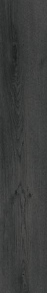 Grès cérame Keraben Madeira noir mat plinthe 8x50cm GMDVP00K