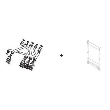 Kit de remplacement pour chaudière SAUNIER DUVAL ISOTWIN réf. 3678475