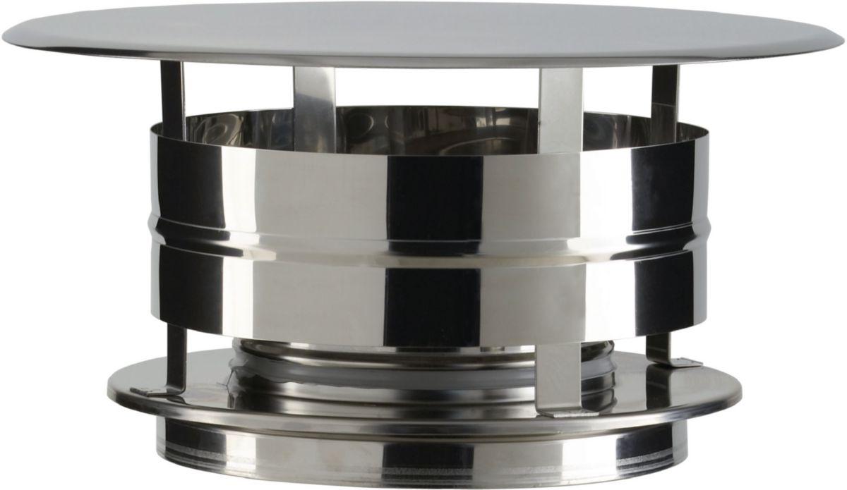 Chapeau aspirateur THERMINOX TI, diamètre 150 mm, tous combustibles CAI 150 TZ / réf. 21150037