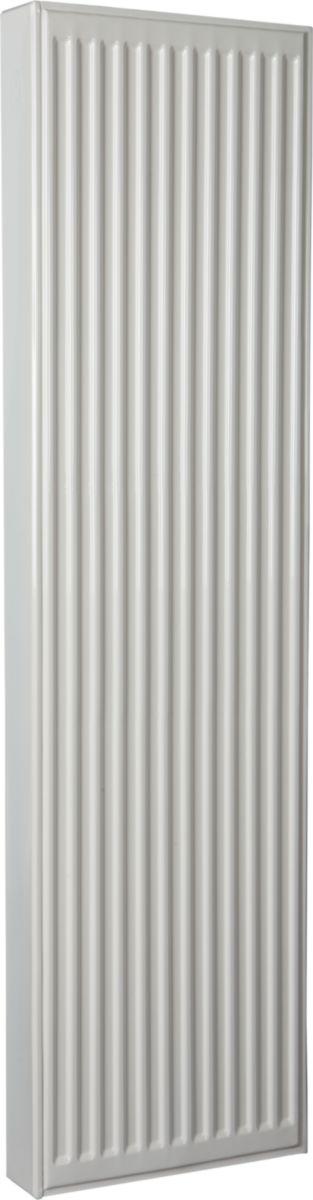 Radiateur panneau Altech 6 connexions vertical habillé type 22 hauteur 2000 mm largeur 600 mm puissance 2559 watts