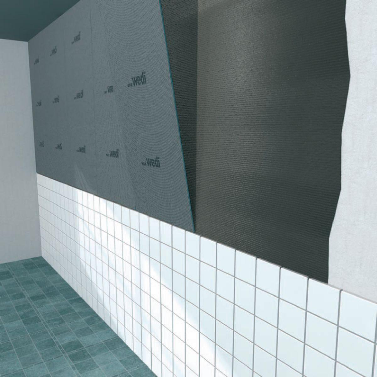 Plaque Salle De Bain Wedi ~ panneau de construction wedi 1250x600x4 mm r f 01 00 00 004 wedi
