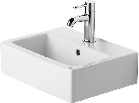 DURAVIT - Lave-mains VERO, 45 x 35, avec trop-plein et plage de ...
