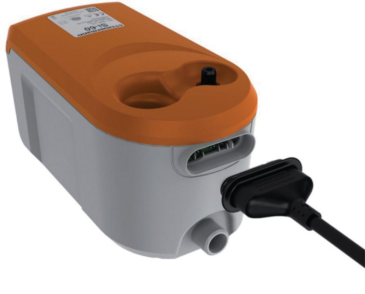 Pompe de relevage à bac SI-60 20 L/H à piston oscillant réf. SI6000SIUN23