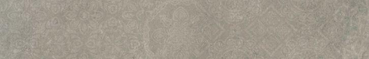 Plinthe sol intérieur grès cérame émaillé Fusion - vison - 10x61,5 cm