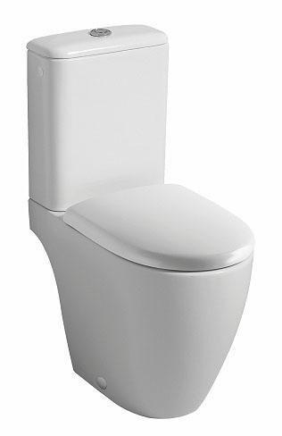 Pack wc LOVELY Rimfree mécanisme général abattant standard blanc Réf. 08339600000201