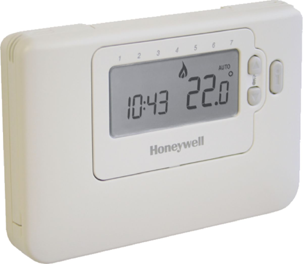 honeywell thermostat d 39 ambiance programmable hebdomadaire cm707 r f cmt707a1003 cedeo. Black Bedroom Furniture Sets. Home Design Ideas