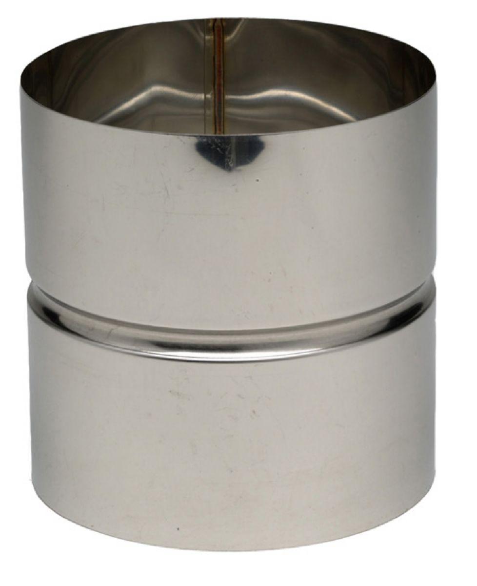 Manchette inox 304 pour montage condensation diamètre 139 femelle/femelle réf. 612139