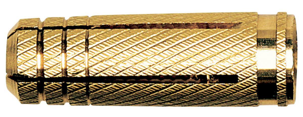 Cheville laiton MS 8x28-boite 50 pces Réf. 78981