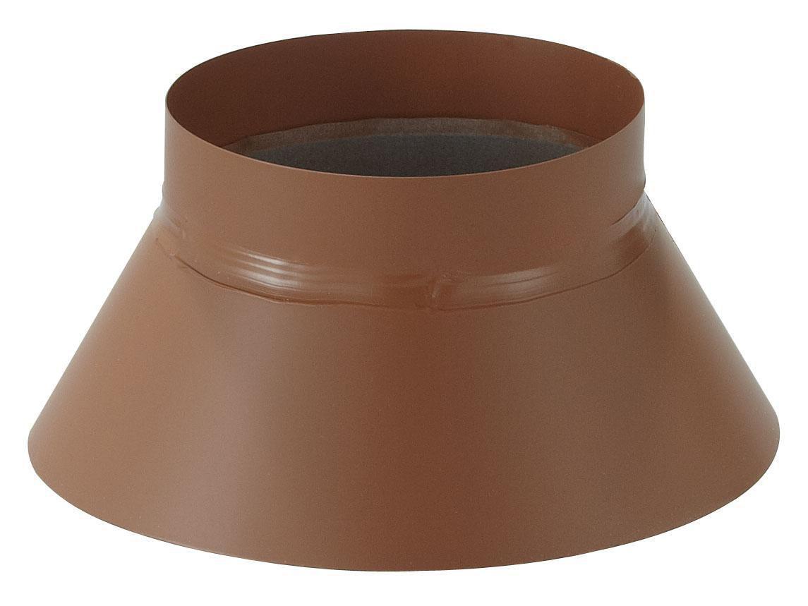 Collerette de solin GA - Diam. 80 - Noir ardoise (RAL 0323) Réf. COLLER 80 G.A / 17080549