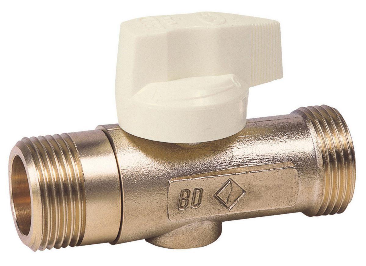 Robinet d'arrêt sans patte de fixation BD927 M-M 1 DN : cal. 20 réf. 22017020