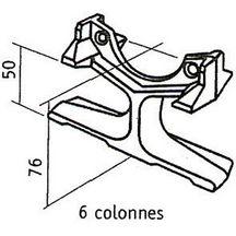 radiateurs fonte radiateurs chauffage et climatisation cedeo. Black Bedroom Furniture Sets. Home Design Ideas