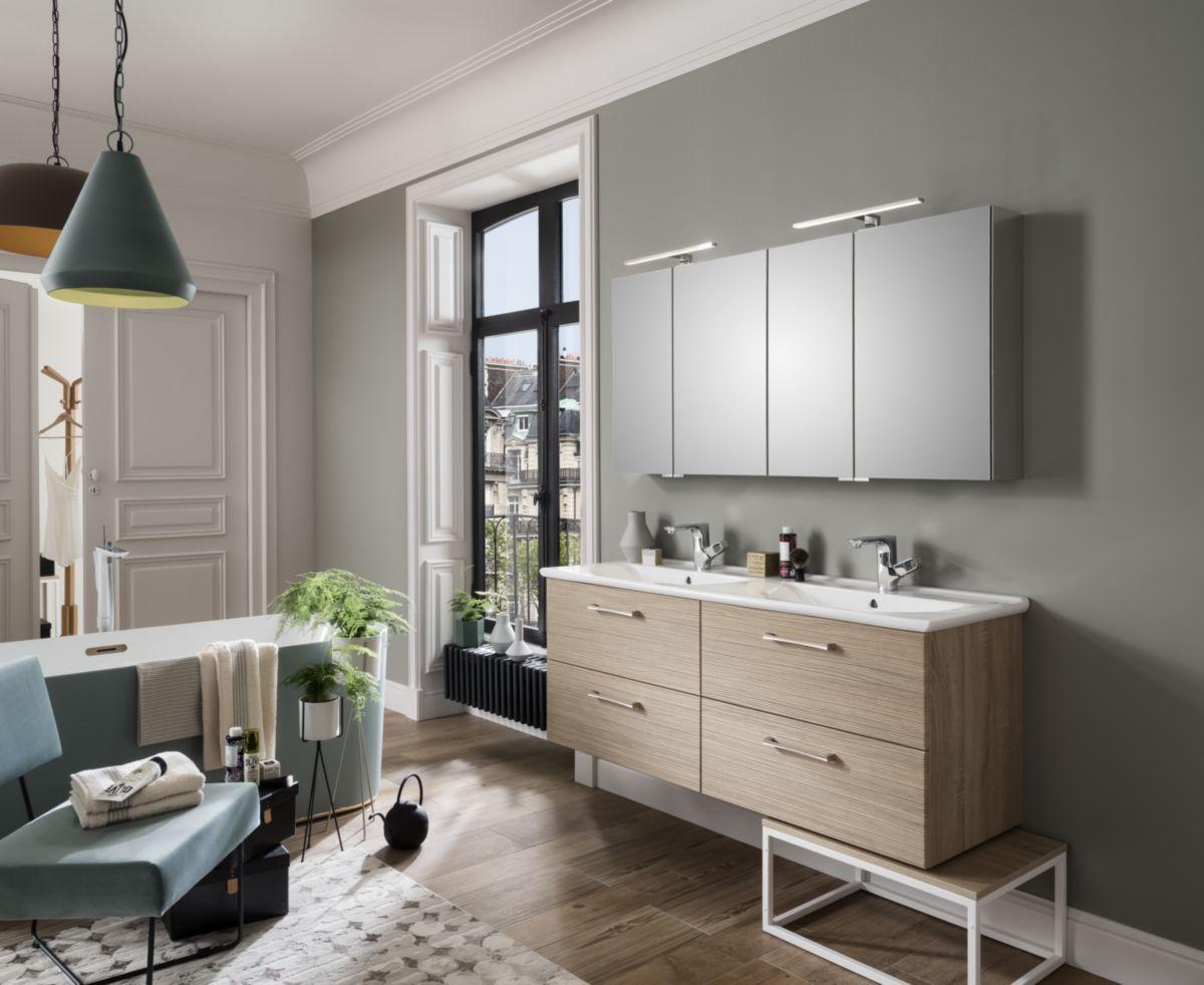 Hauteur Armoire De Toilette armoire toilette 2p p40+p30 hauteur 69 cm profondeur 16 cm longueur 70 cm  cotes effet miroir réf. h6 cmmy70