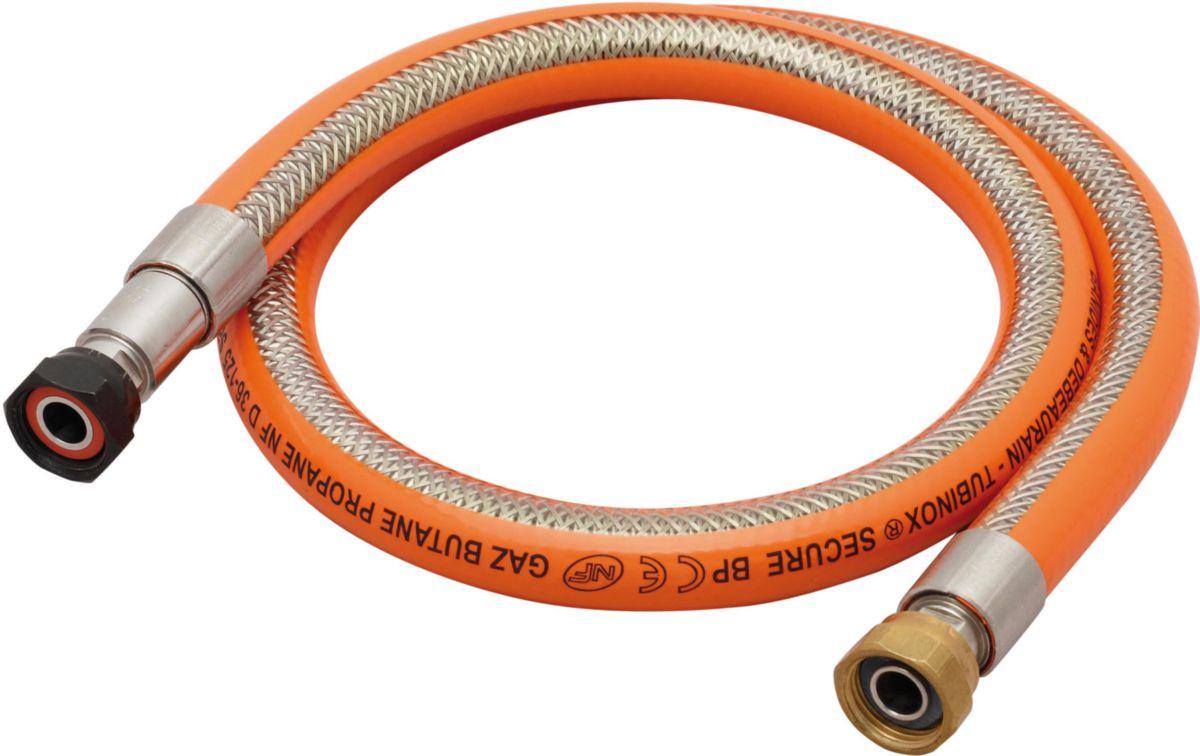 Flexible inox secure bp 1,50 m réf 38955