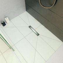 TNR/® Siphon de sol Moderne Dor/é 70Cm Salle de bains Siphon de sol Fuite au sol Salle de douche Grille D/échets
