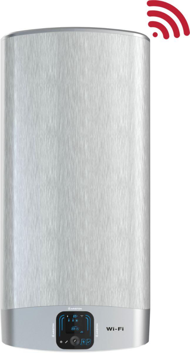 Chauffe-eau électrique plat Vélis WiFi 80 litres classe énergétique B VLS EVO WiFi 80 FR EU / réf. 3623379