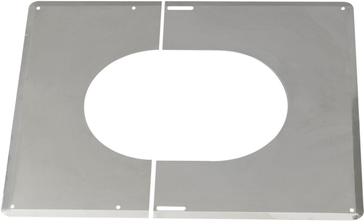 Accessoires opsinox plaque de finition 0° a 30° inox 200 réf. 482020