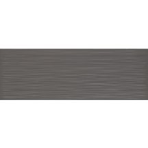 Carrelage mural int�rieur fa�ence Life Anthracite - 25x70 cm