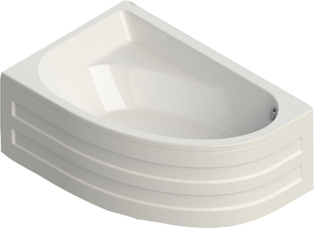 Baignoire asym trique verseau 3 150 x 100 cm gauche acrylique blanc alterna - Baignoire asymetrique 150 ...