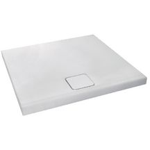 Receveur douche ODEON UP 80X80X4 antid�rapant blanc r�f N121K220