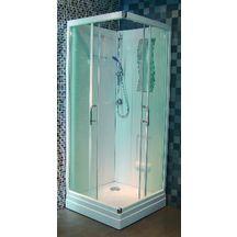 cabine de douche concerto 90 x 90 cm acc s d 39 angle porte coulissante alterna sanitaire. Black Bedroom Furniture Sets. Home Design Ideas