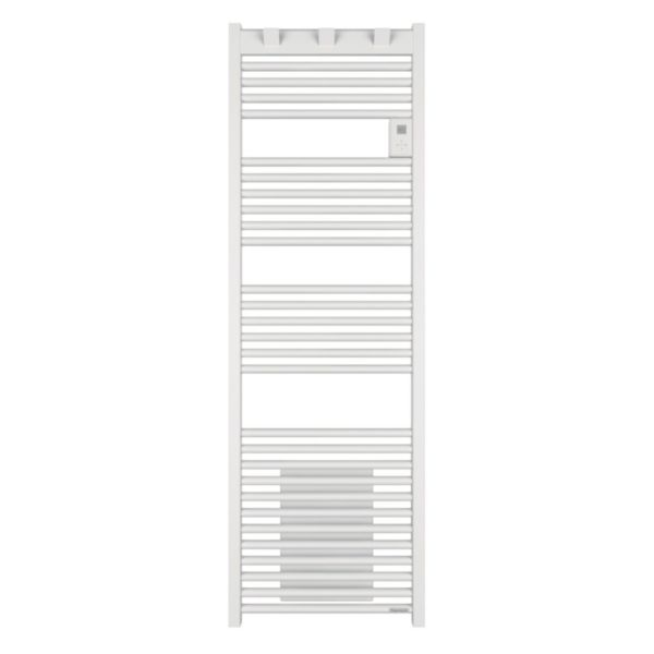 Radiateur sèche-serviettes Riva 3 avec soufflerie 2000W blanc satin Réf 471417