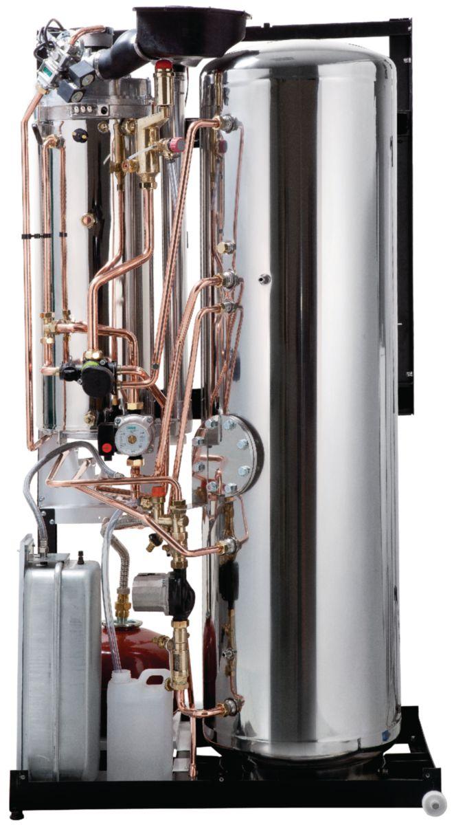 Kit raccordement 2 circuit chauffage + circuit HYDROCONFORT ballon 120 litres condensation 20 kW Visio réf. F3AA41243