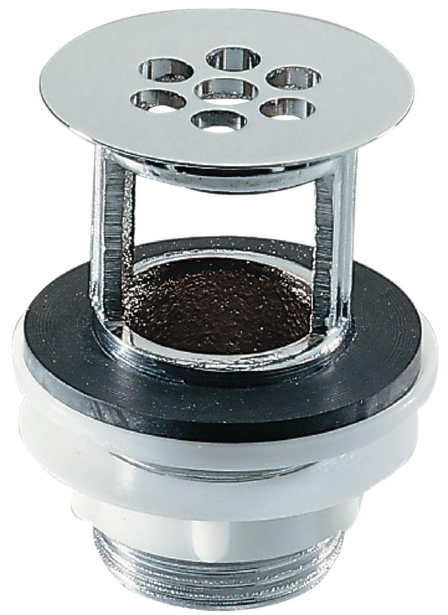 Bonde De Lavabo Porcher.Bonde De Lavabo A Grille Avec Trop Plein Diametre 32 Chrome D5851aa