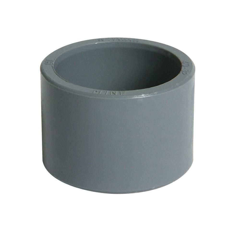 Réduction mâle femelle incorporée diamètre 32/25mm gris IF
