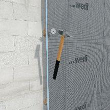 Panneau de construction wedi standard polystyr ne for Panneau polystyrene extrude a carreler