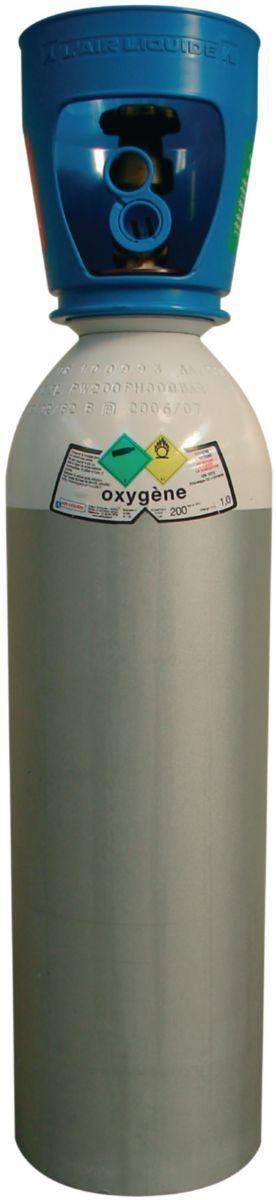oxygène oxyflam 1000 petite bouteille 1m3 réf. i1001s05r2e001