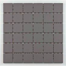 Mosaïque céramique Grip - grey - 30x30 cm - tesselles 4,7x4,7 cm