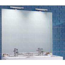 Miroir de 3mm contrecoll sur panneau de particules - Fixation miroir salle de bain ...