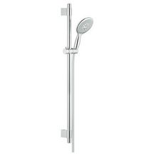 Ensemble de douche complet POWER & SOUL Classic, 130 mm, chromé Réf 27738000