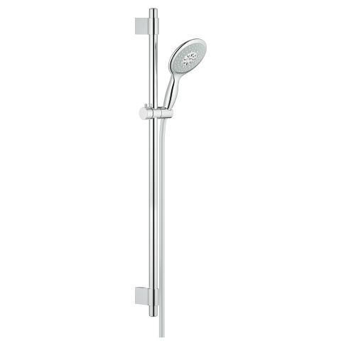 Ensemble de douche complet POWER & SOUL Classic, 130 mm, chromé réf. 27738000
