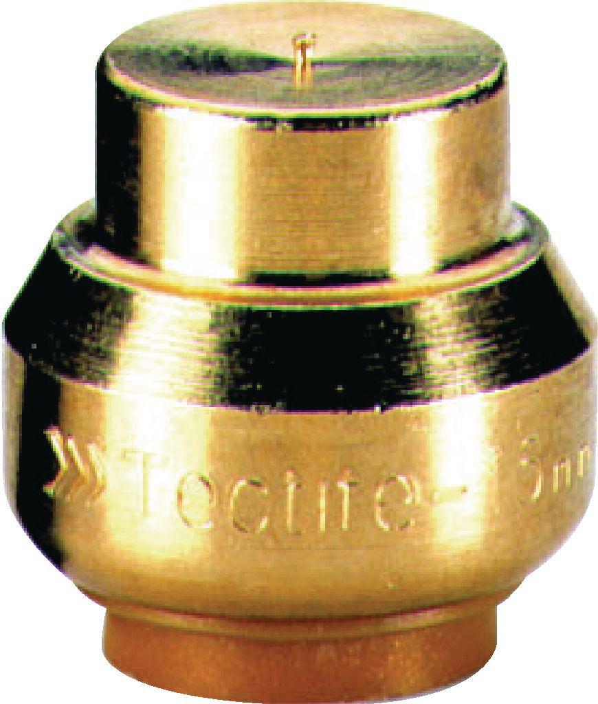 Bouchon T300 Instantané Tectite Femelle D20 Pour Tube Cuivre Per Ou Pb Réf T30114