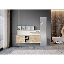 Meuble salle de bain ARKE natural wood 165 cm