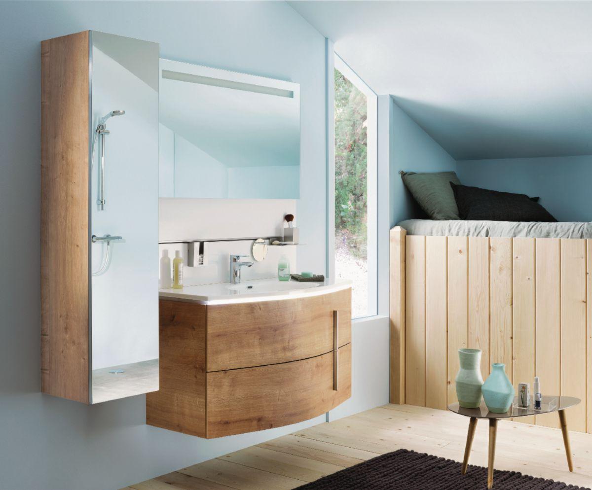meuble salle de bain soon ch ne arlington 110 cm envie de salle de bain. Black Bedroom Furniture Sets. Home Design Ideas