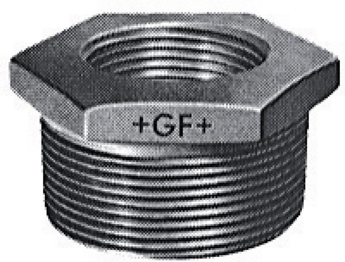 Mamelon réduit N° 241 fonte malléable Galvanisé MF diamètre : 20x12 Réf. 24125042