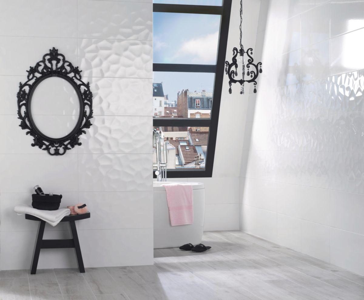 carrelage blanc brillant fashion designs