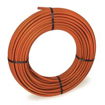 Tube nu en couronne rouge PER BetaPEX-RETUBE diam 16 ep : 1,5 mm Lg : 240 m Réf B612001044