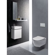 pack wc suspendu lovely compact rimfree slim abattant frein de chute blanc r f 08394600000110. Black Bedroom Furniture Sets. Home Design Ideas