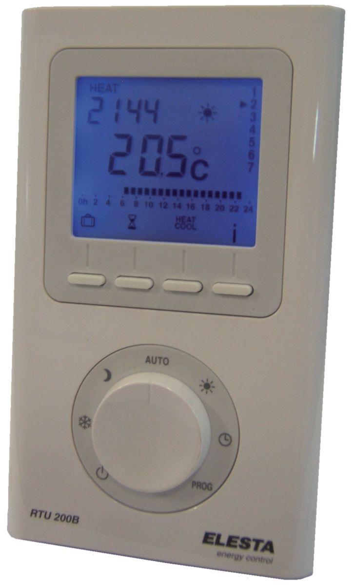 thermostat d 39 ambiance programmable r f rtu200b elesta regulation europe. Black Bedroom Furniture Sets. Home Design Ideas