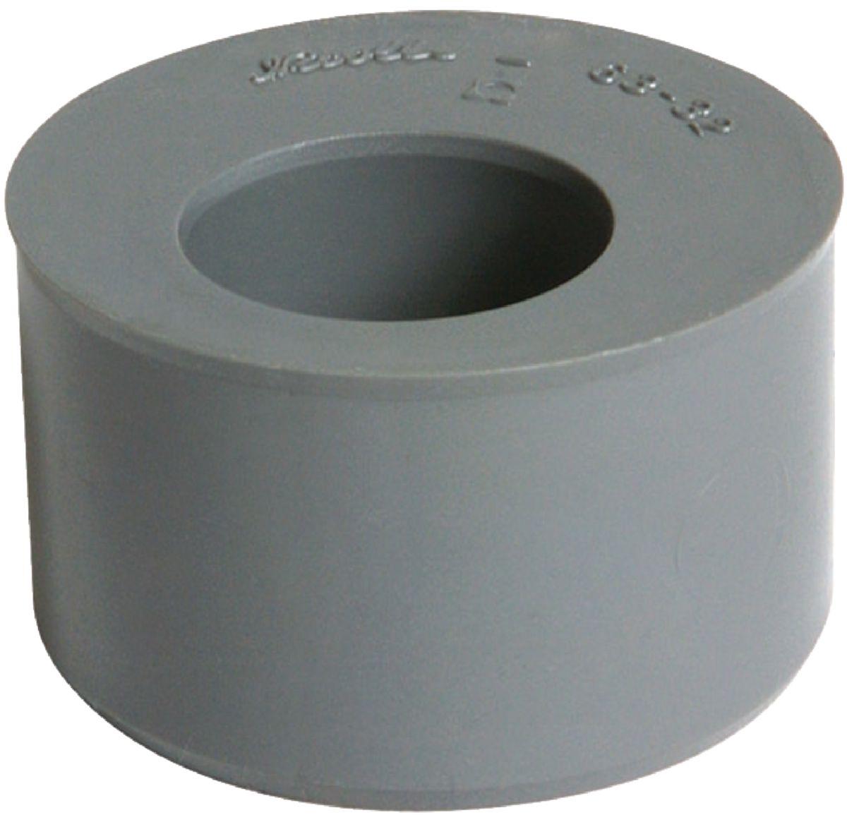 nicoll tampon de r duction m le femelle ut4 pvc gris. Black Bedroom Furniture Sets. Home Design Ideas